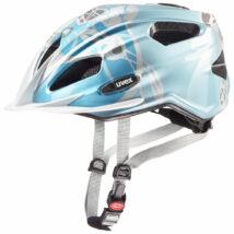Uvex Quatro junior, lightblue-silver kerékpár sisak