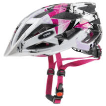Uvex Air wing, white-pink kerékpár sisak