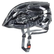 Uvex Air wing, dark silver-black kerékpár sisak