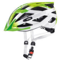 Uvex Air wing, lime-white kerékpár sisak