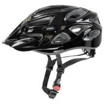 Uvex Onyx, black butterfly gold kerékpár sisak