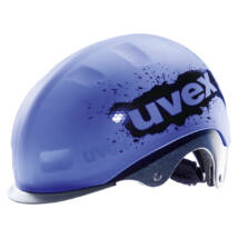 Uvex Aero rain cap bike, blue-black