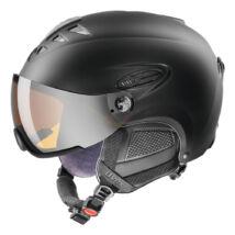 Uvex Hlmt 300 visor, black mat sísisak