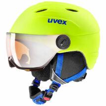 Uvex Junior visor pro, neon yellow mat sísisak