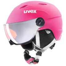 Uvex Junior visor pro, pink mat sísisak