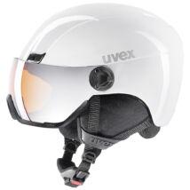 Uvex Hlmt 400 visor, white