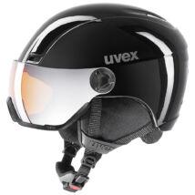 Uvex Hlmt 400 visor, black