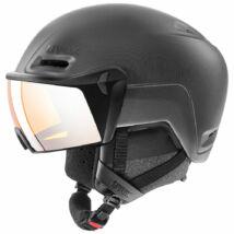 Uvex Hlmt 700 visor, black mat sísisak