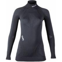 UYN Lady Ambityon UW Shirt LG SL turtle neck, blackboard-anthracite-white aláöltöző felső