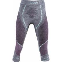 UYN Lady Ambityion UW Pants Medium Melange, black melange-pink-aqua aláöltöző alsó