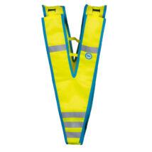 Wowow Fun Collar fényvisszaverő gallér (gyerek), sárga