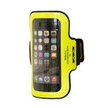 Wowow Smartphone Armband 2.0, sárga telefontartó