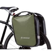 Crosso Dry big, oliva zöld csomagtartó táska