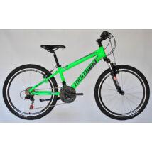 Montana MTB 24 REVO alu Junior fiú neon zöld/fekete