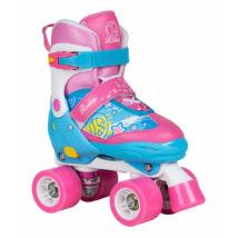 Rookie FAB blue/pink állítható méretű kétsoros görkorcsolya