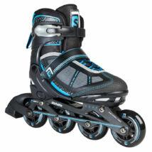 Skatelife Lava, black/blue állítható méretű görkorcsolya