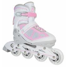 Skatelife Lava, grey/pink állítható méretű görkorcsolya