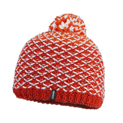 Schöffel Knitted Hat Coventry2, flame scarlet sapka sapka