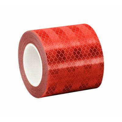 Fényvisszaverő ragasztószalag 3M 5,5 cm, piros