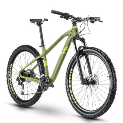 R Raymon HardRay Seven 3.0, armor green/lime/black 2020