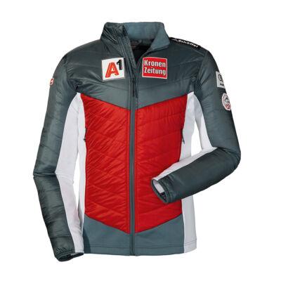 Schöffel Ins. Jacket Val d Isere RT, racing red dzseki