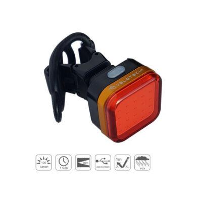 Velotech Quad USB hátsó lámpa