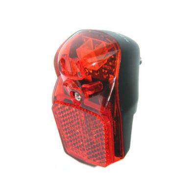 Velotech 1 LED dinamós hátsó lámpa sárvédőre