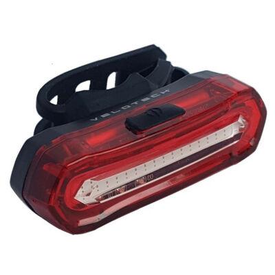 Velotech 16 LED USB féklámpás hátsó lámpa