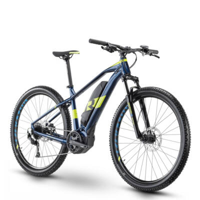 R Raymon HardRay E-Nine 4.0, deepblue/lime 2021