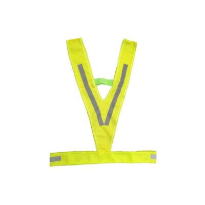 Láthatósági hám M-Wave V alakú
