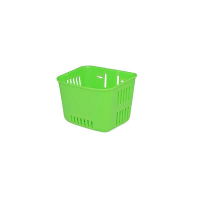 Műanyag, gyerek zöld első kosár