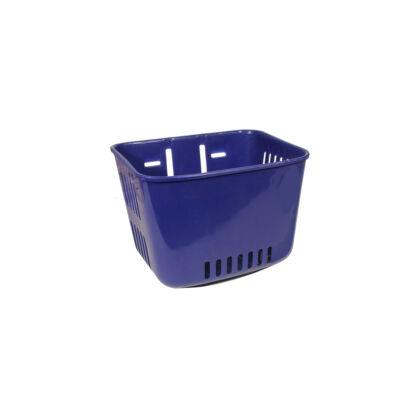 Műanyag, gyerek kék első kosár