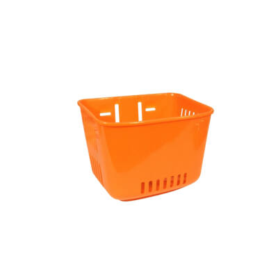Műanyag, gyerek narancs első kosár