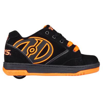 Heelys Propel 2.0 black orange - Gurulós cipők 330cd192cf