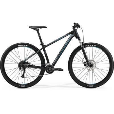 Merida Big.Nine 200, matt-black (silver/blue) 2019