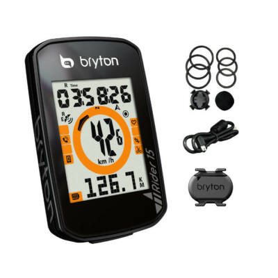 Bryton Rider 15C GPS szett (+SCAD)