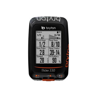 Bryton Rider 330 E GPS, black