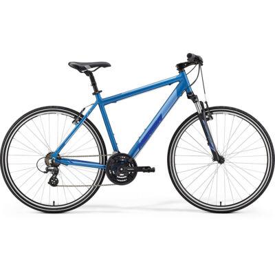 Merida Crossway 10-V, selyem kék (ezüst/sötétkék) 2019