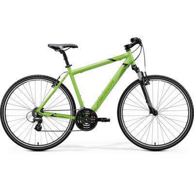 Merida Crossway 10-V, selyem világos zöld (fekete/zöld)