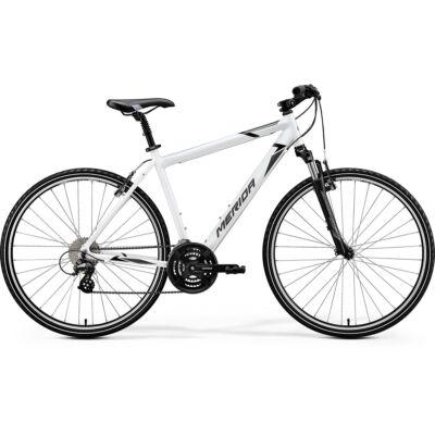 Merida Crossway 15-V, fényes fehér (fekete/szürke)
