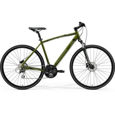 Merida Crossway 20, mohazöld (ezüst-zöld/fekete) 2021