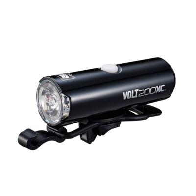 Cateye Volt 200 XC (HL-EL060RC), fekete első lámpa