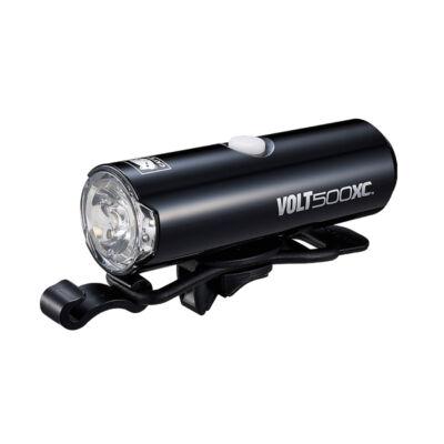 Cateye Volt 500 XC (HL-EL080RC), fekete első lámpa