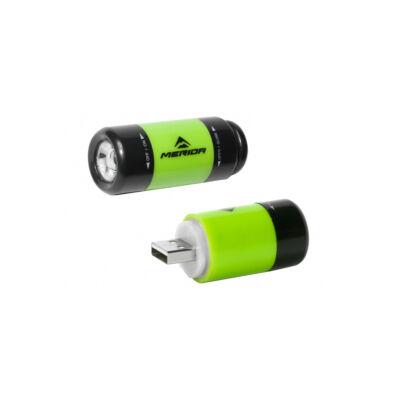 Merida ME15 1 LED USB zöld
