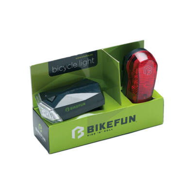 Bikefun Square set 4+3 LED