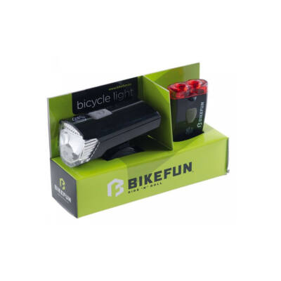Bikefun Ray set 1+2 LED, usb