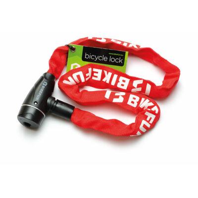 Bikefun Shackle 5x850 láncos lakat, piros