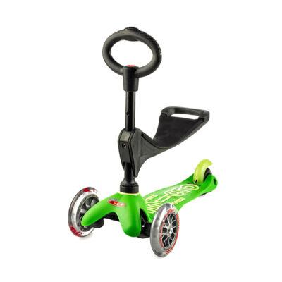 Micro Mini 3in1 Deluxe roller, zöld