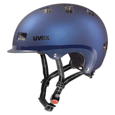 Uvex City 5 blue metallic mat