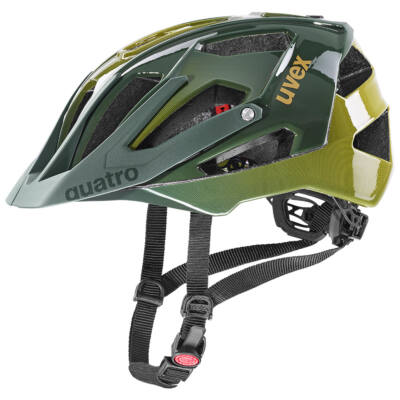 Uvex Quatro, forest-mustard kerékpár sisak